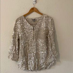 JM Collection shirt size L